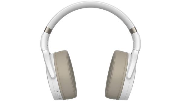 Tai nghe bluetooth Sennheiser HD 350BT Trắng mặt chính diện