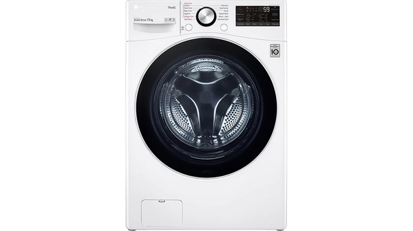 Máy giặt LG Inverter 15 kg F2515STGW mặt chính diện