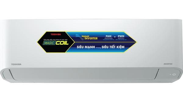 Máy lạnh Toshiba Inverter 1.5 HP RAS-H13C3KCVG-V mặt chính diện