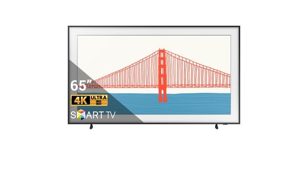 Smart Tivi The Frame QLED Samsung 4K 65 inch QA65LS03AAKXXV mặt chính diện
