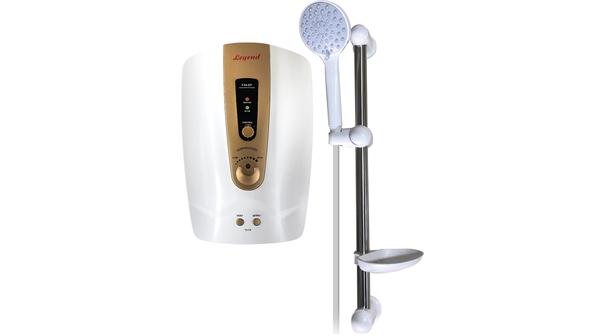 Máy tắm nước nóng Legend LEF35-EP Vàng mặt chính diện