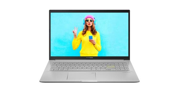 Laptop Asus Vivobook 15 A515 i3-1115G4 15.6 inch A515EA-BQ489T mặt chính diện