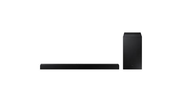 Loa soundbar Samsung 2.1ch HW-A550/XV bộ loa mặt chính diện