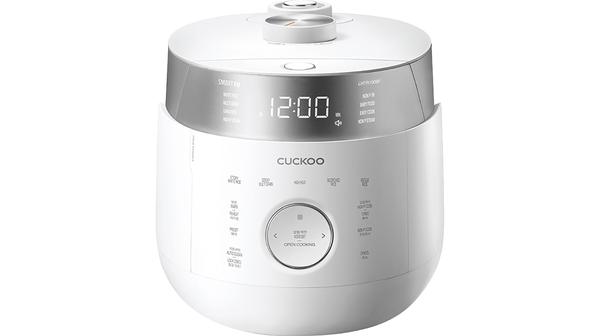 Nồi cơm điện Cuckoo 1.8 lít CRP-LHTR1009F Trắng mặt chính diện