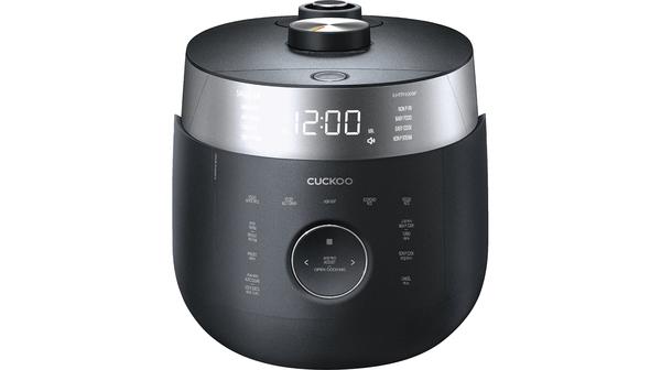 Nồi cơm điện Cuckoo 1.8 lít CRP-LHTR1009F Đen mặt chính diện
