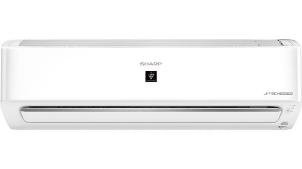 Máy lạnh Sharp Inverter 1 HP AH-XP10YHW mặt chính diện