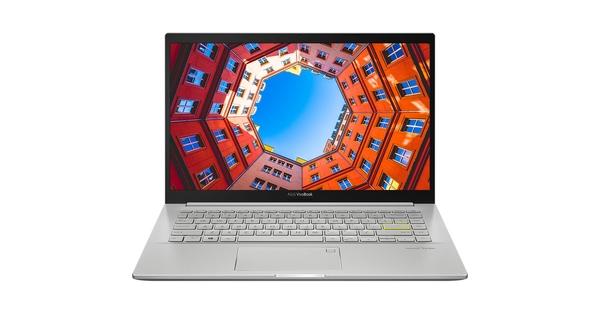 Laptop Asus Vivobook 14 M413 R5-4500U 14 inch M413IA-EK338T mặt chính diện