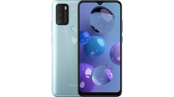 Điện thoại Vsmart Star 5 3GB/32GB Xanh Bạc Hà mặt chính diện trước sau