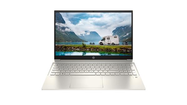 Laptop HP Pavilion 15-EG0007TX i7-1165G7 15.6 inch 2D9D5PA mặt chính diện