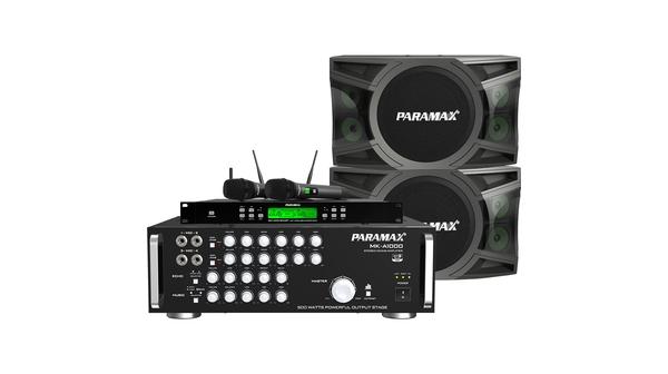 Combo Loa Paramax MK-S1000 + Amply Paramax MK-A1000 + Micro Paramax SM-1000