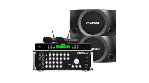 Combo Loa Paramax MK-S2000 + Amply Paramax MK-A2000 + Micro Paramax SM-1000