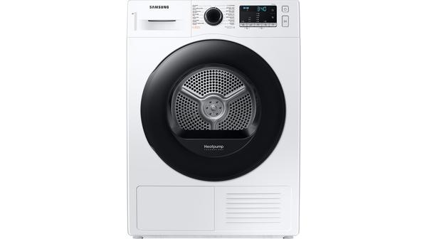 Máy sấy bơm nhiệt Samsung 9 kg DV90TA240AE/SV mặt chính diện