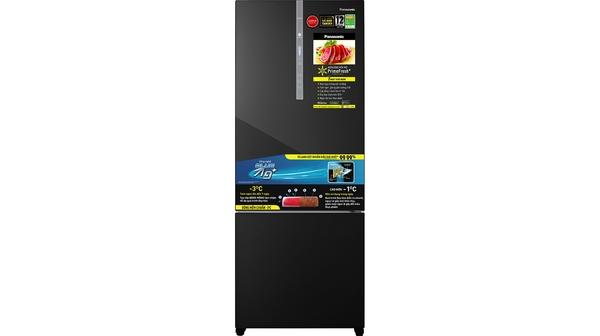 Tủ lạnh Panasonic Inverter 420 lít NR-BX471WGKV mặt chính diện