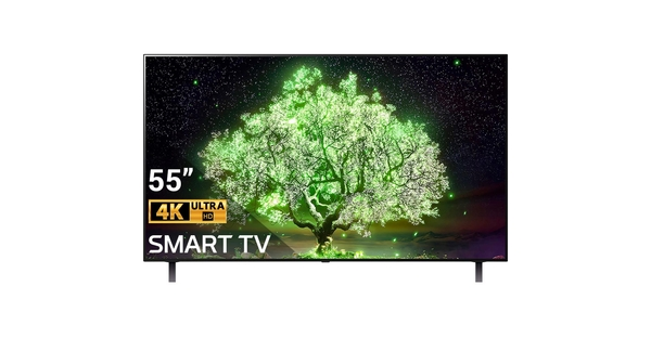 Smart Tivi OLED LG 4K 55 inch OLED55A1PTA mặt chính diện