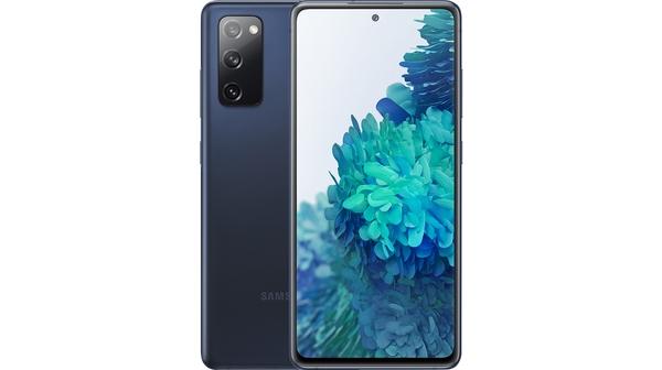 Điện thoại Samsung Galaxy S20 FE 8GB/256GB Xanh Mặt chính diện trước sau