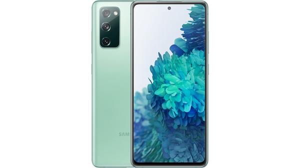 Điện thoại Samsung Galaxy S20 FE 8GB/256GB Xanh Lá Mặt chính diện trước sau
