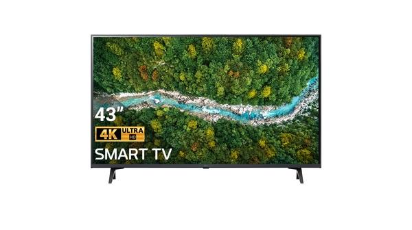 Smart Tivi LG 4K 43 inch 43UP7720PTC mặt chính diện