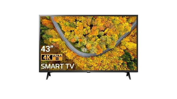Smart Tivi LG 4K 43 inch 43UP7550PTC mặt chính diện
