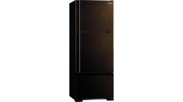 Tủ lạnh Mitsubishi Electric Inverter 414 lít MR-V50ER-BRW-V mặt nghiêng