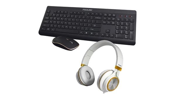 Combo tai nghe + bộ phím chuột