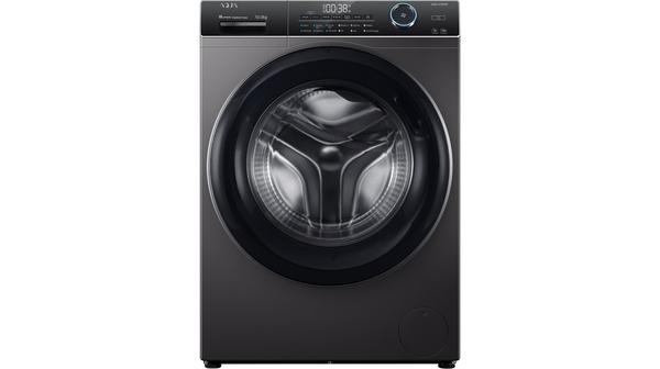 Máy giặt Aqua Inverter 10 kg AQD-A1000G.S mặt chính diện