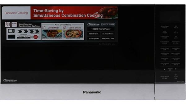 Lò vi sóng Panasonic 27 lít NN-GF574MYUE màn hình LCD to giúp cho các thao tác linh hoạt và quan sát dễ dàng hơn