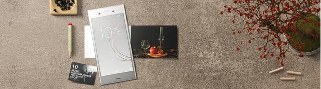 Điện thoại di động Sony Xperia XZ1 màu bạc giá tốt tại Nguyễn Kim