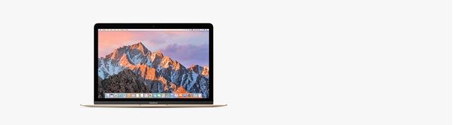 Macbook Pro 12 inch 256GB (2017) Gold có thiết kế sang trọng, đẳng cấp