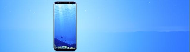 Điện thoại Samsung Galaxy S8+ xanh chính hãng giá tốt tại Nguyễn Kim