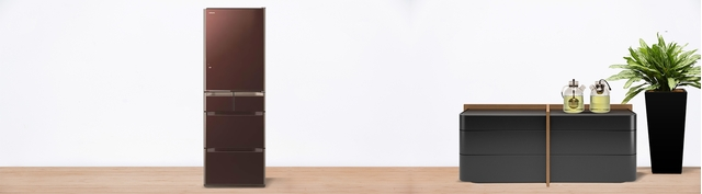 Tủ lạnh Hitachi R-E5000V 529 lít đen giảm giá hấp dẫn tại Nguyễn Kim