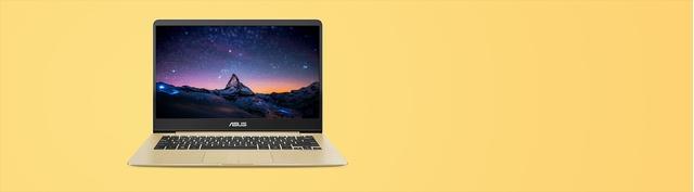 Laptop Asus Zenbook UX430UN-GV096T màu vàng chính hãng