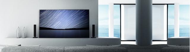 Tivi Sony Bravia OLED 55A1 có thiết kế hiện đại, tinh tế