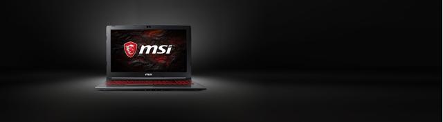 Laptop MSI GV62 7RD-2823VN mặt trước
