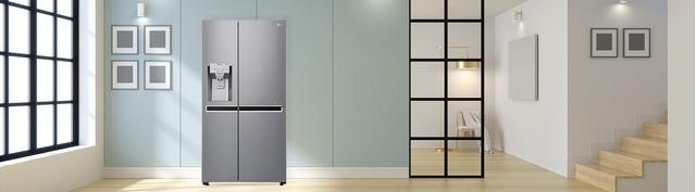 Tủ lạnh LG 601 lít GR-D247JS giá tốt tại Nguyễn Kim