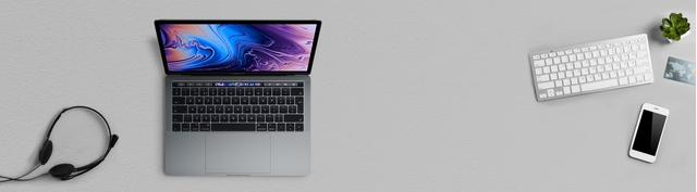 Macbook Pro 13.3 inch 2019 256GB Space Gray MUHP2SA/A