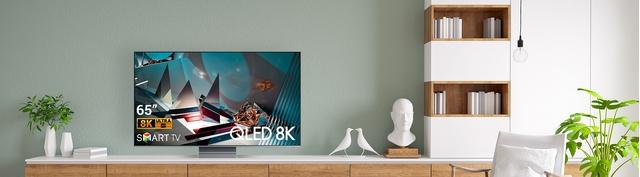 Smart Tivi QLED Samsung 8K 75 inch QA75Q800TAKXXV premium