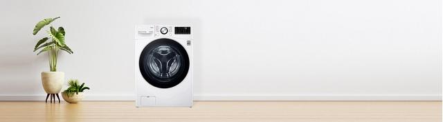 Máy giặt sấy LG Inverter 15 kg F2515RTGW premium