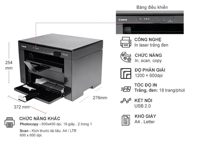 Máy in laser đa năng Canon MF3010