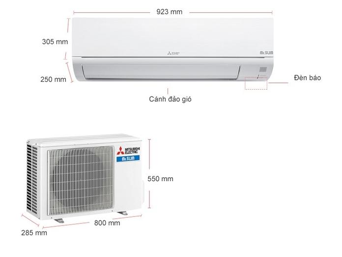 Máy lạnh Mitsubishi 2 HP MS-HP50VF
