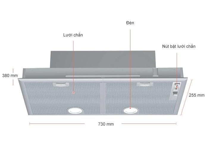 Hút mùi âm tủ Bosch HMH.DHL755BL