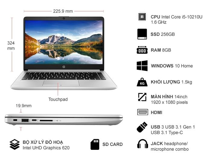 HP 348 G7 i5- 10210U 14.0 inch 9PH00PA