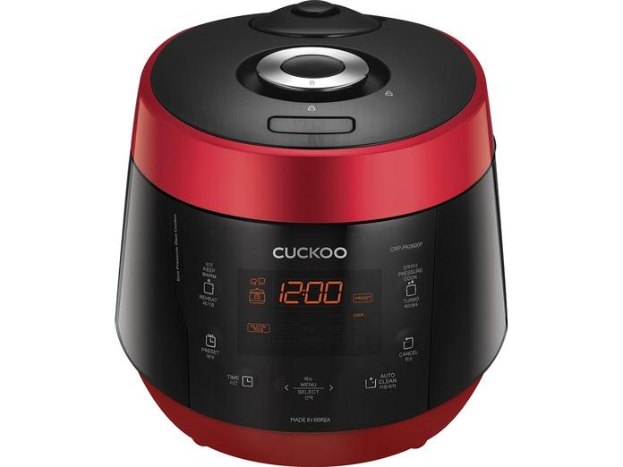 Nồi cơm điện Cuckoo 1.08 lít CRP-PK0600F mặt chính diện