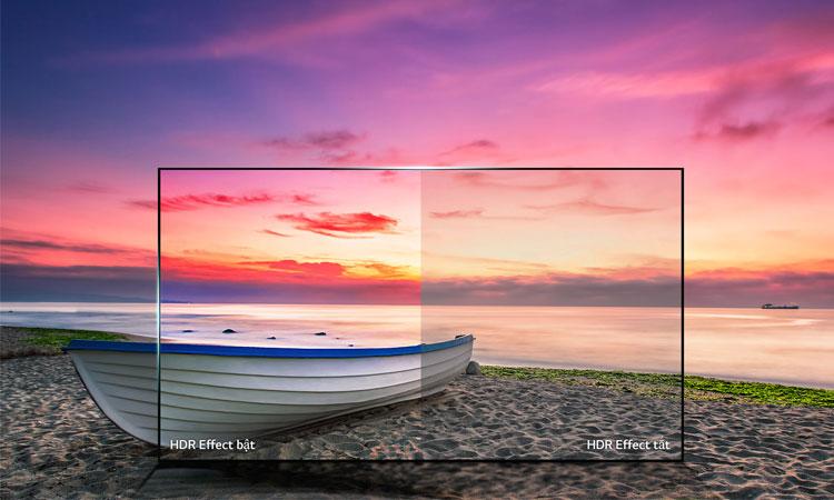 Tivi 4K LG 43 inch 43UJ632T màu sắc ấn tượng chân thực đến tự nhiên