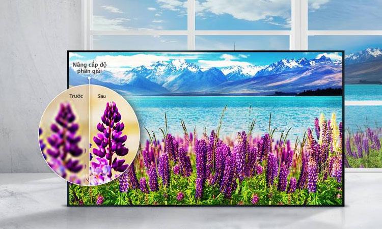 Hình ảnh hiển thị sắc nét trên tivi 4K LG 43 inch 43UJ632T