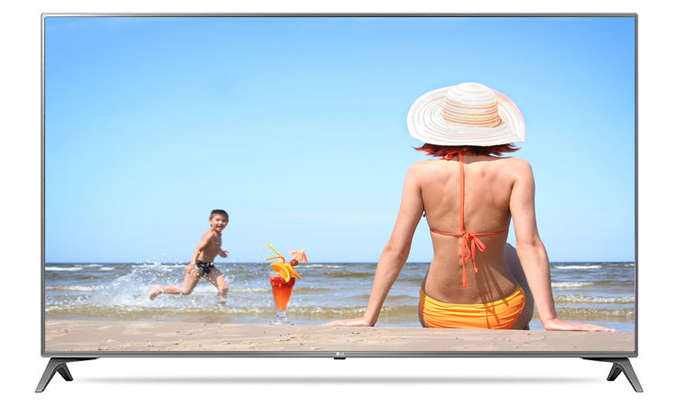 Thiết kế siêu hiện đại và ấn tượng trên tivi 4K LG 43inch 43UJ652T