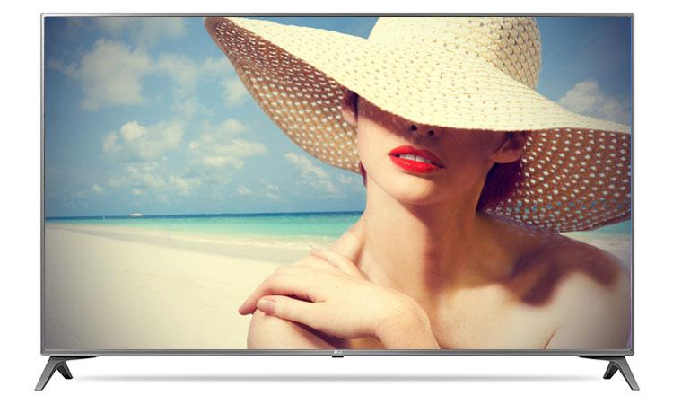 Thiết kế siêu hiện đại và ấn tượng trên tivi 4K LG 49inch 49UJ652T