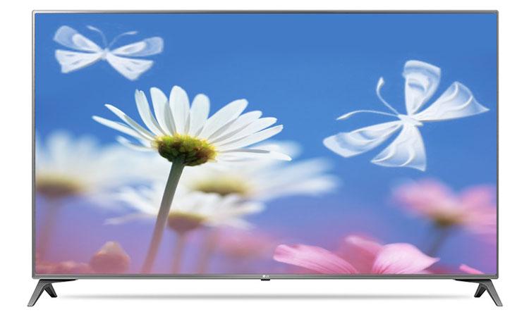 Thiết kế siêu hiện đại và ấn tượng trên tivi 4K LG 55inch 55UJ652T