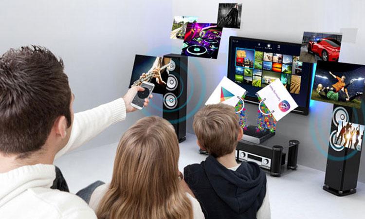 Tivi Sony KD43X7000E VN3 với ứng dụng Screen Mirroring siêu tiện ích(Ảnh minh họa)