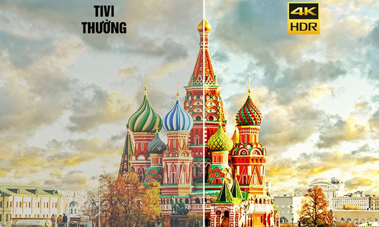 Tivi Sony KD43X7000E VN3 màu sắc sống động thật ấn tượng