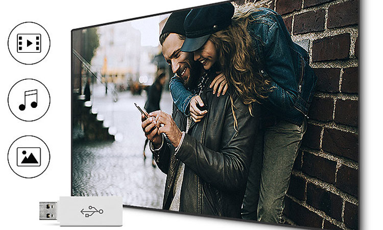 Tivi Full HD Samsung 40 inch UA40M5000AKXXV cho khả năng kết nối cực dễ dàng